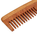 Premium Neem Herbal Wooden Shampoo Comb with  Smart Handle