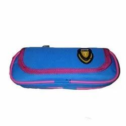 Fancy Blue Pencil Case