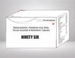 Methylcobalamin Pantothenic Acid Biotin Ferrous Ascorbate & Multivitamin Capsule