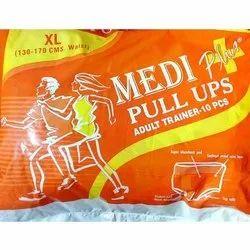 Cotton Disposable Medi Plus Adult Pull UPs Diaper, Size: XL