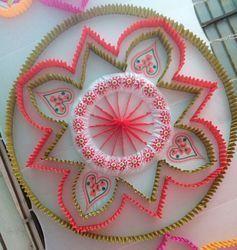 Decoration Celling Shamiyana Mandap Ceiling Designs