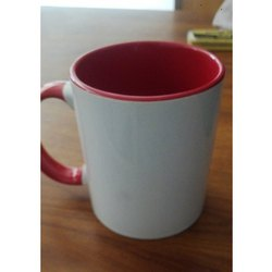 Orange, White Ceramic Sublimation Mug