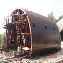 Heavy Steel Structure Fabrication For Large Radius