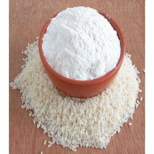 White Rice Flour, सफेद चावल का आटा, Rice Atta, Rice Powder