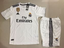7297ef39be8 REAL MADRID AWAY KIT JERSEY WITH SHORT 2019 HALF SLEEVE   REAL MADRID AWAY  KIT JERSEY WITH SHORT 2019 FULL SLEEVE Retailer from Surat