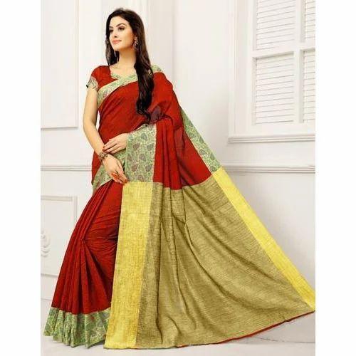 87db9fe285 Silk Weaving Saree - Royal Blue Lichi Silk Weaving Saree ...