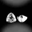 Colorless Trillion Cut DEF Moissanite Diamond
