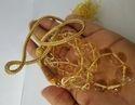 Cetrine Round Beads Necklace