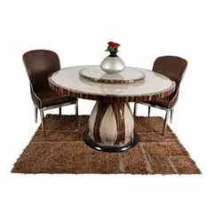 Wooden Restaurant Round Dining Table Set for Home
