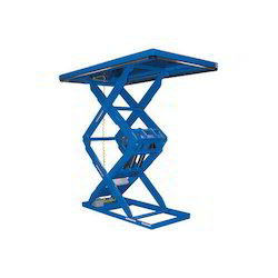 Scissor Lift for Loading & Unloading of Vehicles