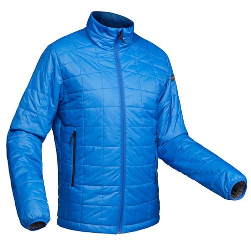 Decathlon TREK 100 - Blue Pipe Men Mountain Trekking Padded Jacket