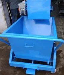 Drasla Stainless Steel Chip Bin / Trolley