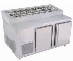 Stainless Steel under Counter chller d freezer