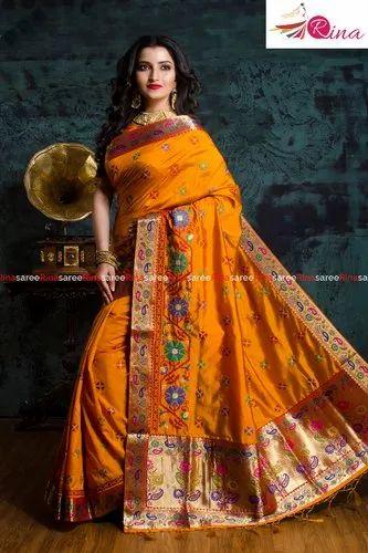 Handloom Silk Work Sarees Collection