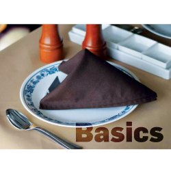 Polyester Plain Basics Table Cotton Napkin, For Restaurants And Banquets, Size: 20 x 20 Inch