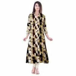 Rayon Casual Wear Fashion Kurti