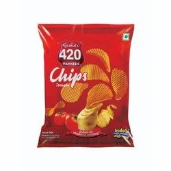 Fried Tomato Flavor Potato Chips, Packet
