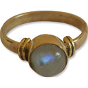 Handmade Exclusive Gemstone Gold Plated Brass Ring