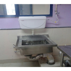 Wall Mounted Bed Pan Sink