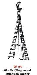 Balaad Aluminium Aluminum Self Supported Extension Ladder