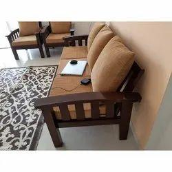 Living Room Wooden Sofa
