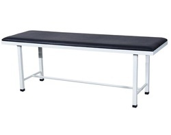 standard steel White Patient Examination Table, Size: 72x24x36