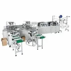 Surgical 3 Ply Fully Automatic Face Mask Making Machine