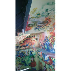 Graffiti Wall Painting Service, Type of Property Covered: Residential & Commercial