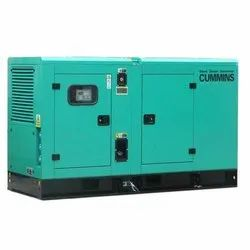 Water Cooling Fully Automatic 35 KVA Cummins Silent Diesel Generator, For Industrial, 230-415