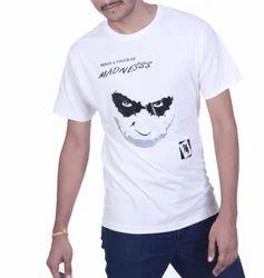 White Half Sleeve T-Shirt