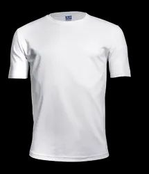 Poly Plain Round Neck T Shirt