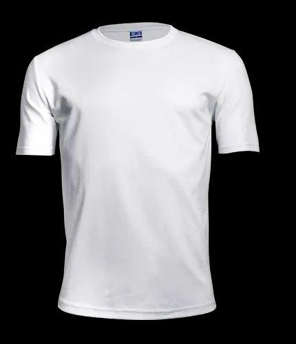 Poly Plain Round Neck T Shirt