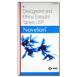 Desogestrel And Ethinyl Estradiol Novelon Tablets