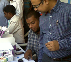 Diabetic Eye Check Up Services