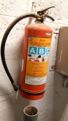 Fire Extinguisher Gas Mixture