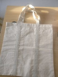 Cotton Canvas Grocery Bags, Size: 16*17 inches