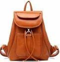 Ladies Leather Backpack Bags