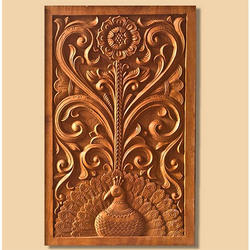 Wooden Engraved Door