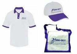 Combo DDU GKY T Shirt Cap with Bag