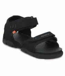 Black Synthetic Sparx SS101 Sandal