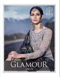 Designer Sharara Suit by Mohini Fashion