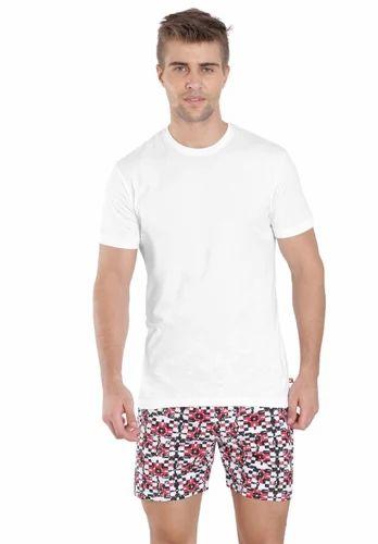 a01bcace Jockey White Round Neck Inner T-Shirt, गोल गले की टी ...
