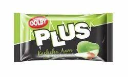 Green Hard Candy Plus Kaccha Aam Toffee, Packaging Type: Plastic Jar