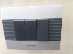 3 Pin 10 Amps Anchor Panasonic switch, for Home, 230 V