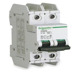3 Phase 220 - 240 V Schneider Electric MCB