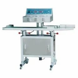 Continuous Induction Sealing Machine (Big Model  20-130 mm) - S.S.