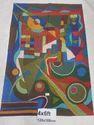 Modern Art Chain Stitch Rugs
