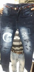 Denim Mullti Color Mens Jeans