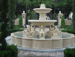 Antique Garden Fountain