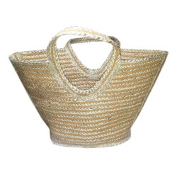 Casual Handbags Fashion Ethnic Style Jute Shopping Bag